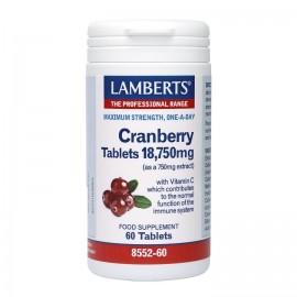 LAMBERTS CRANBERRY 18750MG 60TABS