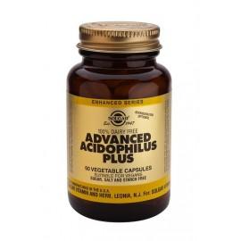 SOLGAR ADVANCED ACIDOPHILUS PLUS 60VCAPS