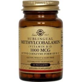 SOLGAR B12 METHYLCOBALAMIN 30TABS