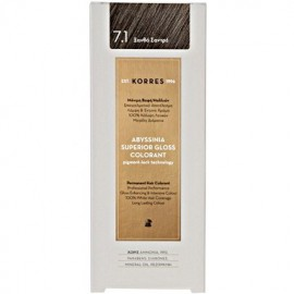 KORRES ABYSSINIA SUPERIOR GLOSS COLORANT ASH BLONDE 7.1