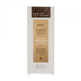 KORRES ABYSSINIA SUPERIOR GLOSS COLORANT 7.77 INTENSE CHOCOLATE BLONDE