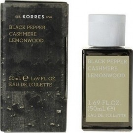 KORRES BLACK PEPPER CASHMERE LEMONWOOD 50ML