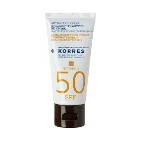 KORRES YOGHURT TINTED SPF50 CREAM 50ML