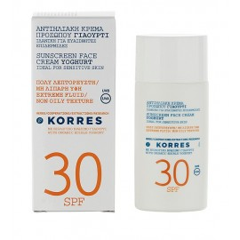 KORRES TINTED SUNSCREEN FACE CREAM YOGHURT SPF30 50ML