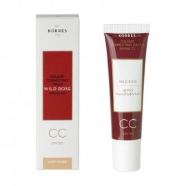 KORRES CC WILD ROSE SPF30 MEDIUM SHADE 30ML
