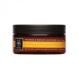 APIVITA NOURISH & REPAIR HAIR MASK WITH OLIVE &HONEY 200ML