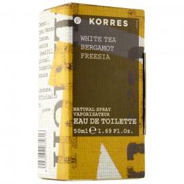 KORRES WHITE TEA BERGAMOT FREESIA PERFUME 50ML