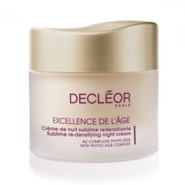 DECLEOR EXCELLENCE DE L`AGE SUBLIME RE-DENSIFYING NIGHT CREAM 50ML