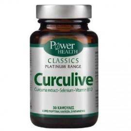 POWER HEALTH PLATINUM CURCULIVE CAPS 30CAPS