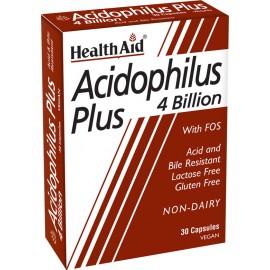 HEALTH AID ACIDOPHILUS PLUS 30CAPS