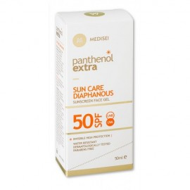 PANTHENOL EXTRA SUN CARE DIAPHANOUS FACE GEL SPF50 50ML
