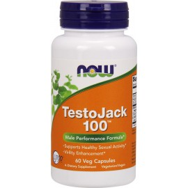 NOW TESTOJACK 100MG 60 CAPS