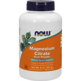 NOW MAGNESIUM CITRATE PURE POWDER 227GR