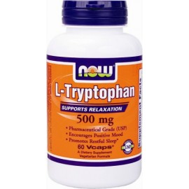 NOW L-TRYPTOPHAN 500MG 60 VCAPS