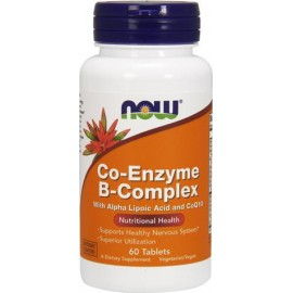 NOW FOODS CO-ENZYME B-COMPLEX X 60 TABS
