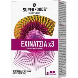 SUPERFOODS ΕΧΙΝΑΤΣΙΑ X3 30CAPS