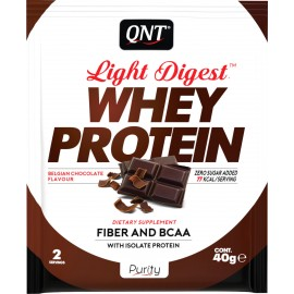 QNT Light Digest Whey Protein Belgian Chocolate 40gr