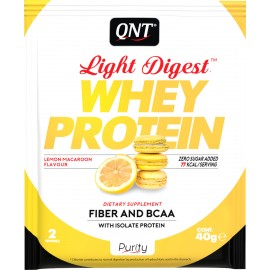 QNT Light Digest Whey Protein Lemon Makaroon 40gr