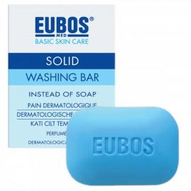 EUBOS SOLID WASHING BAR BLUE 125GR