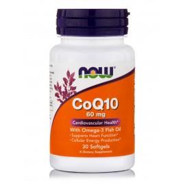 NOW COQ10& OMEGA 3 30SGELS