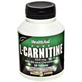 HEALTH AID L CARNITINE 550MG 30TAB