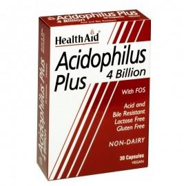 HEALTH AID ACIDOPHILUS 4 BILLION 30CAPS