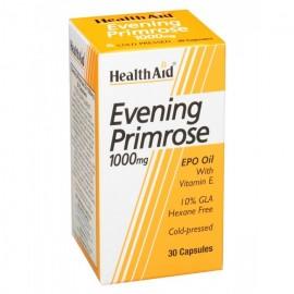 HEALTH AID EVENING PRIMROSE OIL 1000MG 30CAPS