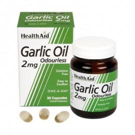 HEALTH AID GARLIC OIL 2MG 30 VCAPS