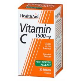 HEALTH AID VITAMIN C 1500MG 30TABS