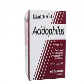 HEALTH AID ACIDOPHILUS 60 CAPS