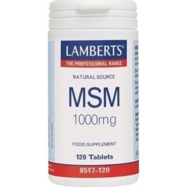 LAMBERTS MSM 1000MG 120TABS