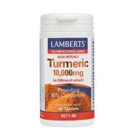 LAMBERTS TURMERIC 10000MG 60TABS