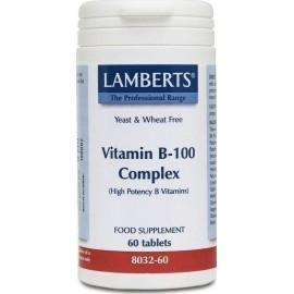 LAMBERTS VIT B100 60CAPS