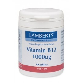 LAMBERTS B 12 1000MCG 60TABS