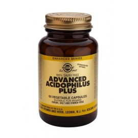 SOLGAR ADVANCED ACIDOPHILUS PLUS 60VCAPS
