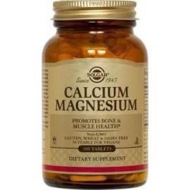 SOLGAR CALCIUM MAGNESIUM 100TABS
