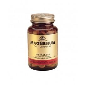 SOLGAR MAGNESIUM+B6 100TABS