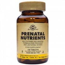 SOLGAR PRENATAL NUTRIENTS 120TABS