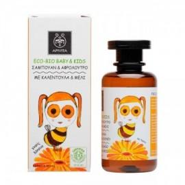 Apivita Eco-Bio Baby & Kids Σαμπουάν & Αφρόλουτρο 200ml.