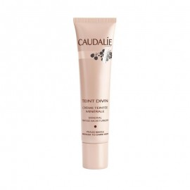 CAUDALIE TEINT DIVIN MINERAL TINTED MOISTURIZER FOR MEDIUM TO DARK SKIN 30ML
