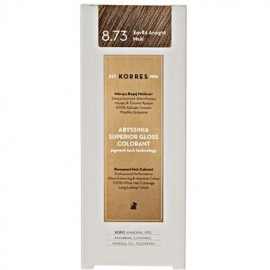 KORRES ABYSSINIA SUPERIOR GLOSS COLORANT 8.73 HONEY LIGHT BLONDE