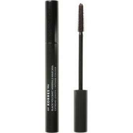 KORRES BLACK VOLCANIC MINERALS PROFESSIONAL LENGTH MASCARA 03 BROWN PLUM 7.5ML