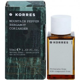 KORRES MOUNTAIN PEPPER BERGAMOT CORIANDER 50ML