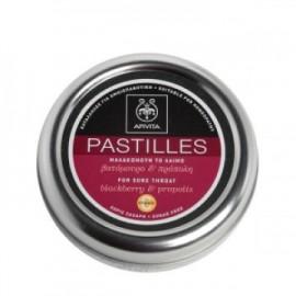 Apivita Παστίλιες με Βατόμουρο, Πρόπολη και Βιταμίνη C