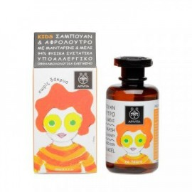 Apivita Παιδικό Σαμπουάν & Αφρόλουτρο με Μανταρίνι & Μέλι 250ml.
