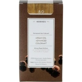 KORRES ARGAN OIL ADVANCED COLORANT 8.0 LIGHT BLONDE