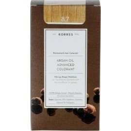 KORRES ARGAN OIL ADVANCED COLORANT 8.7 TOFFEE