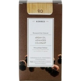 KORRES ARGAN OIL ADVANCED COLORANT 9.0 VERY LIGHT BLONDE