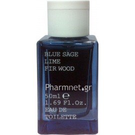 KORRES EAU DE TOILETTE BLUE SAGE LIME FIR WOOD 50ML