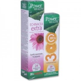 POWER HEALTH ECHINACEA EXTRA 24 TABS & VITAMIN C 500MG 20 TABS